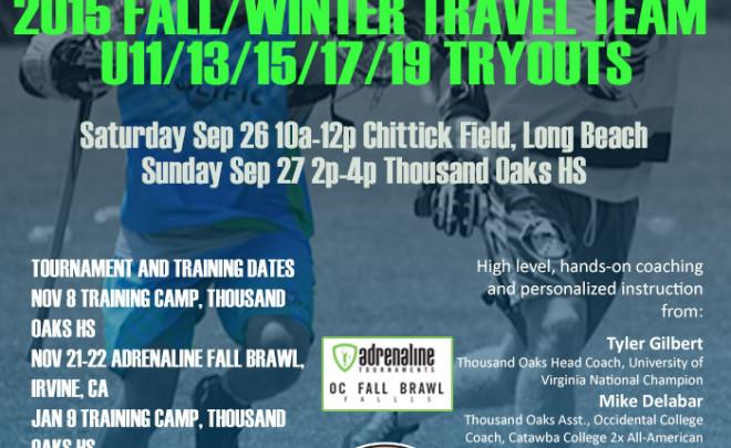 2015 Fall/Winter Team Training: Fall Brawl and Sandstorm