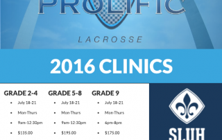 St. Louis University High School hosts Prolific Lacrosse 2016 Youth Summer Camp